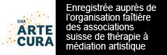 Enregistrée auprès de l'organisation faitière des associations suisse de thérapie à médiation artistique