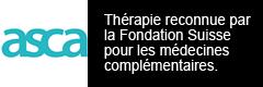 Thérapie reconnue par la Fondation Suisse pour les médecines complémentaires